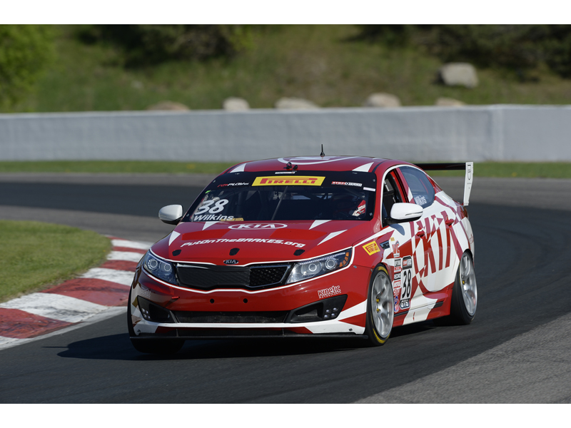 Kia Racing Prepares For Back-to-back Pirelli World Challenge Events at Miller Motorsports Park and Sonoma Raceway