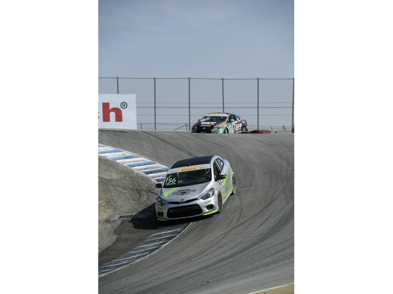 Kia Racing Season Finale At Mazda Raceway Laguna Seca