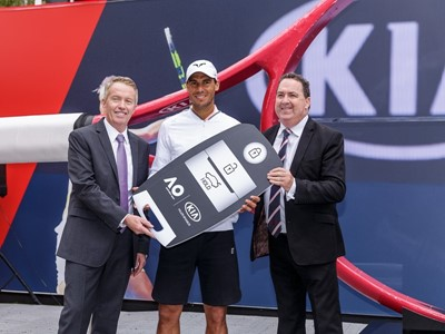 Kia Motors and Rafael Nadal back again at Australian Open 2017