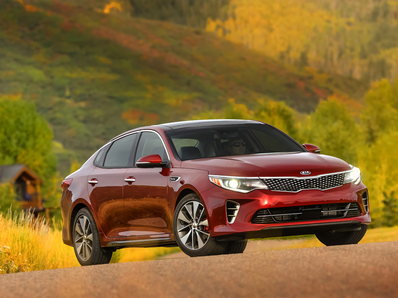 All-New 2016 Kia Optima Receives Top Safety Pick Plus Rating From The Insurance Institute For Highway Safety