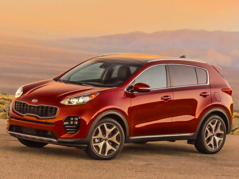 2017 Sportage Receives Top Safety Pick Plus Rating From the Insurance Institute for Highway Safety