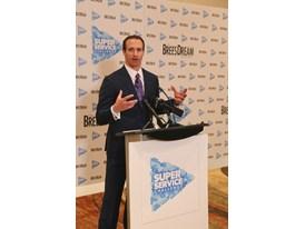Drew Brees, Super Service Challenge Press Conference 1.30.15