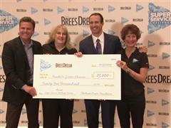 Drew Brees Announces Super Service Challenge Winners and $1,000,000 Charitable Donation