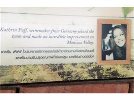 Die Deutsche Kathrin Puff hat mitgeholfen den Monsun Valley Wine zum Erfolg zu machen.