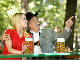 Beer garden / emotional situation