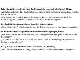 Zitate der Referenten Löwenstein, Krüsken, Dr. Funkschmidt, Kaiser
