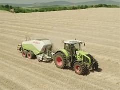 Landwirtschaftliche Maschinen im Einsatz