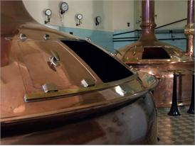 Biermuseum in Bayreuth Lagerkeller