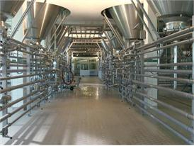 Modern brewery in Bavaria, close to Munich