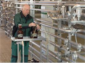 Modern brewery in Bavaria, close to Munich,