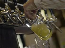 Beer consumption in Berlin and Munich restaurants
