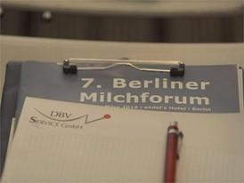7. Berliner Milchforum am 11.3.2016