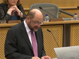 Martin Schulz, Präsident des Europäischen Parlaments, zu Brexit