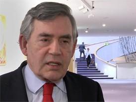 Interview mit Premierminister Gordon Brown