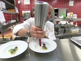 Footage Küche mit Sternekoch Thomas Kammeier, Euref Campus
