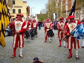 500 Jahre Reinheitsgebot: Festumzug in Ingolstadt