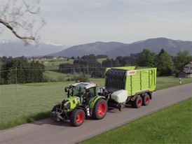 CLAAS ARION 400 HRC - Part 2