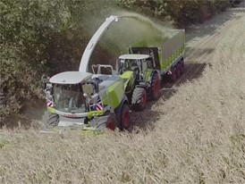 CLAAS JAGUAR 900 (498) : In maize harvesting and whole plant silage (WPS)