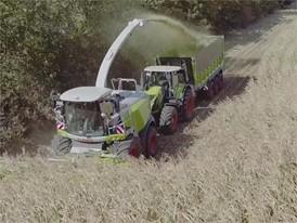 CLAAS JAGUAR 900 (498) : Einsatz bei der Maisernte und Ganzpflanzensilage (GPS)