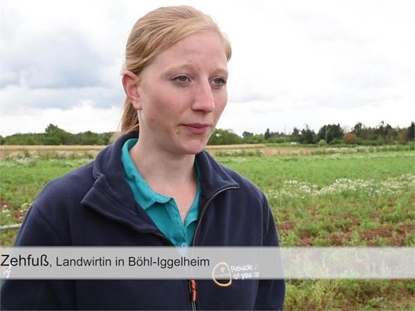 Bio-Kartoffelbauern in der Pfalz drohen 100 % Ernteausfall - Film mit Titel und Bauchbinden