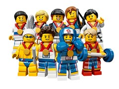 Official Team GB LEGO Minifigures Launched