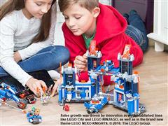 Global LEGO Group sales grew 10% in first half of 2016