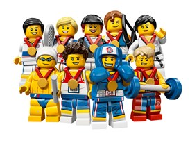 Official Team GB Lego Minifigures
