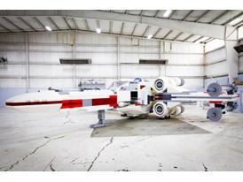 LEGO SW Model In Hangar