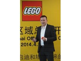 LEGO Senior Designer Ricco Krog gave a presentation about product development