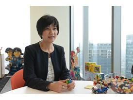 General Manager and Vice President for the LEGO Group in China, I-Chih Chen