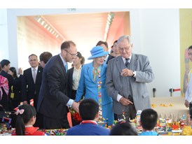 Jiaxing Ground Breaking Ceremony and LEGO Shanghai main office opening