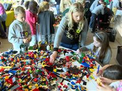 669 Children Used LEGO® Bricks to Build their Version of a more Sustainable Future