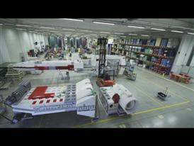 Time lapse of LEGO Star Wars Starfighter model assembly