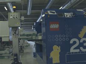 B-roll: LEGO Group storage