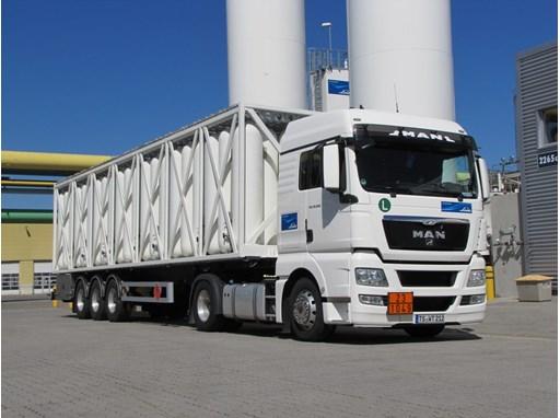500-bar hydrogen trailer from Linde
