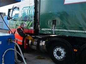 Dual Fuel Truck UK (Manchester)