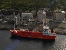 Linde LNG Plant Kollsnes in Norway