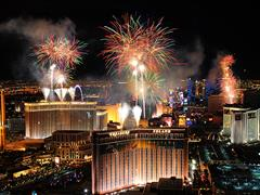 Las Vegas Welcomes Visitors to Ring in 2017