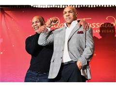 Mike Tyson Unveils Wax Figure from Hangover Movie