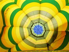 Mesquite Skies in Bloom with Hot Air Balloon Festival