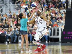 Harlem Globetrotters Bring The Show to T-Mobile Arena