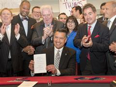 Nevada Governor Signs Historic Legislation to Propel Southern Nevada's Tourism Industry
