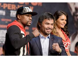 Floyd Mayweather and Manny Pacquiao 21