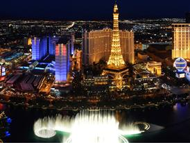 Las Vegas Strip panorama