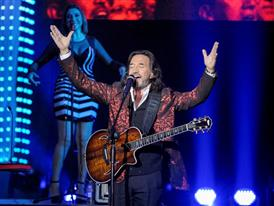 Marco Antonio Solis and Camila perform in Las Vegas for Mexican Independence Weekend