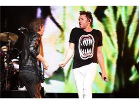 John Taylor and Simon Le Bon of Duran Duran