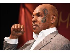Mike Tyson wax figure