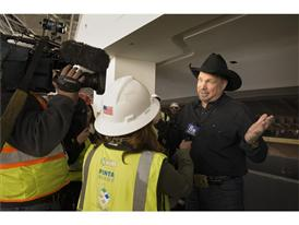 Garth Brooks press conference