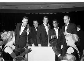 The Rat Pack in Las Vegas 1960