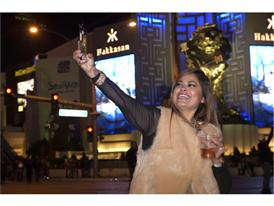 NYE Las Vegas Strip selfie